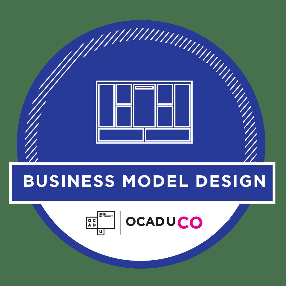 OCAD U CO Workshop Achievement Badges - Business Model Design