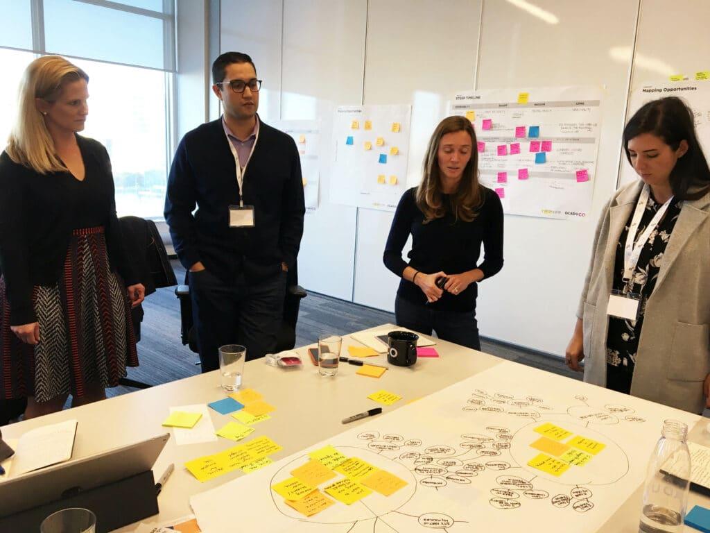 OCAD U CO Executive Education Design Thinking Workshop