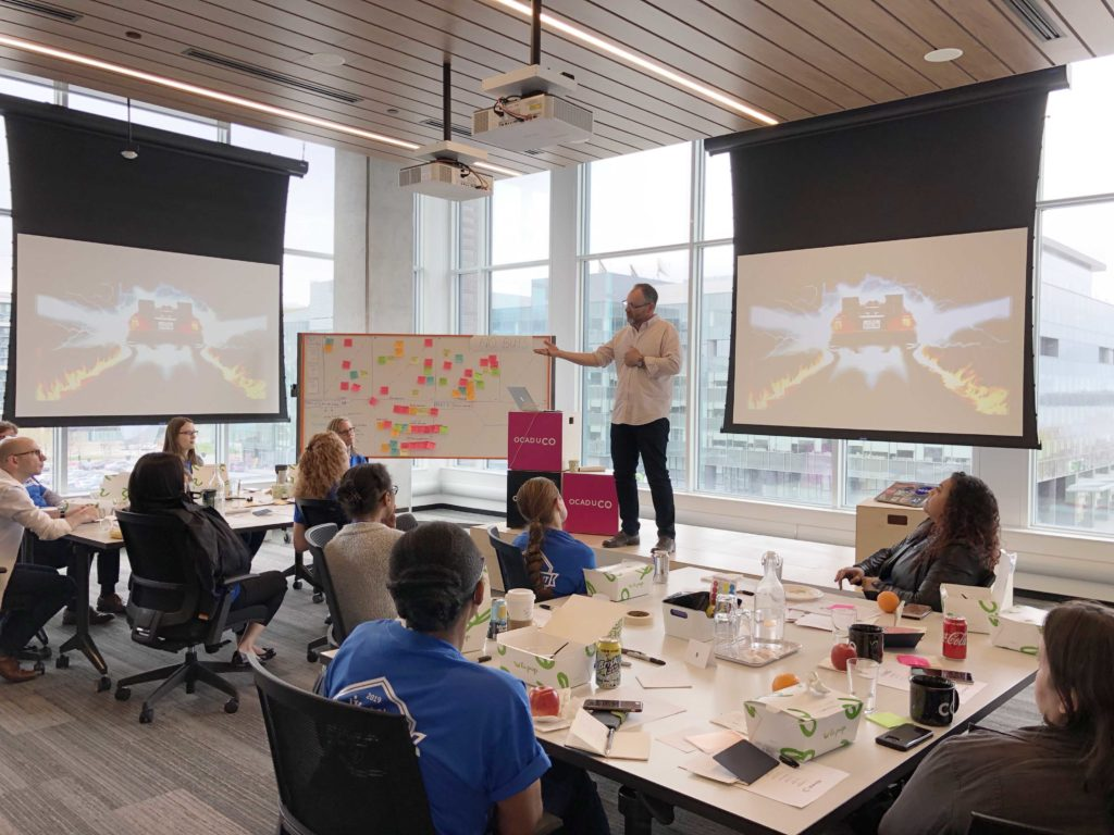 OCAD U CO | Innovation and Design Thinking and Remote Workshop Facilitation