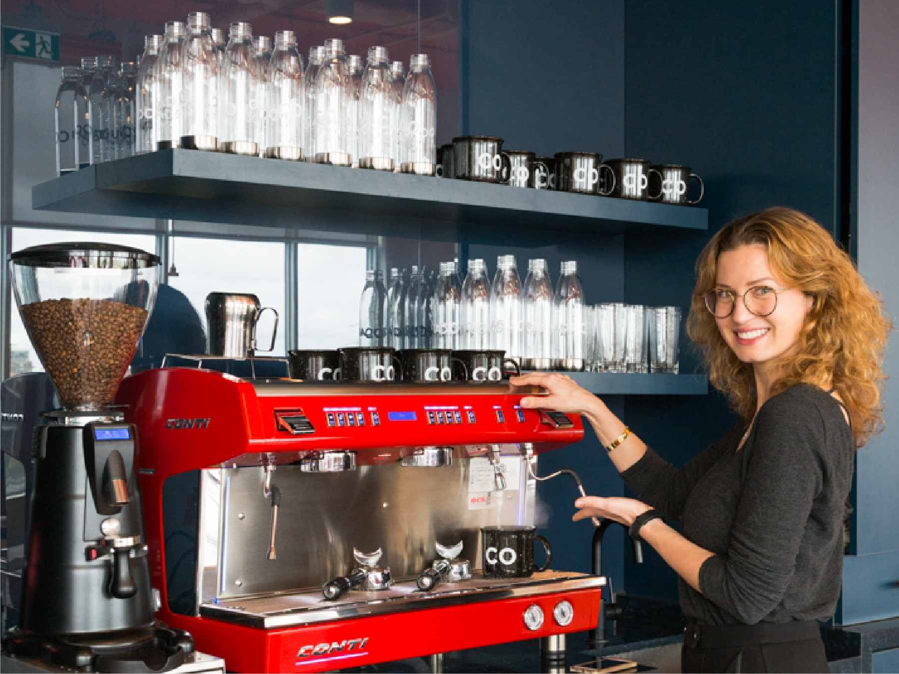OCAD U CO espresso coffee machine